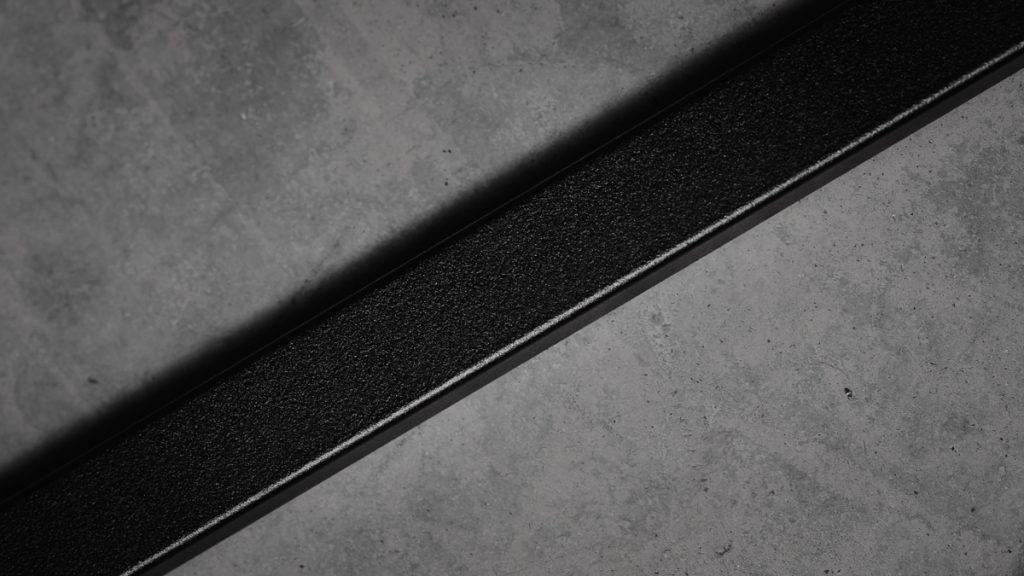 «Smijernsrekkverk» i aluminium - detalj
