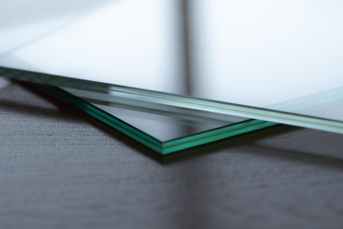 Ultraklares Glas